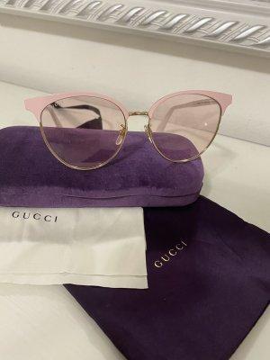 Gucci Lunettes retro rose clair