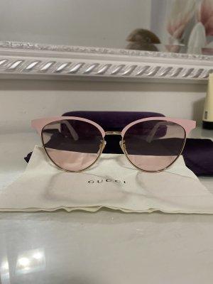 Gucci Occhiale stile retro rosa chiaro