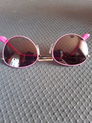Round Sunglasses pink