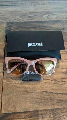 Just cavalli Ovale zonnebril rosé