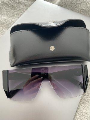 SheIn Angular Shaped Sunglasses black-gold-colored