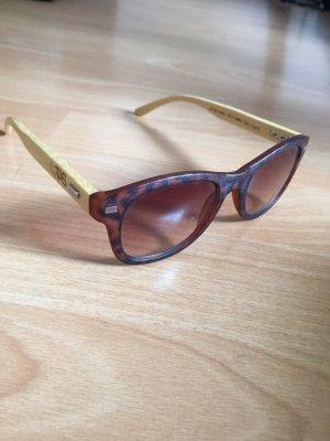 TAS clothing Okulary beżowy-brązowy