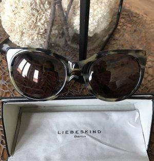 Liebeskind Berlin Butterfly Glasses black-khaki