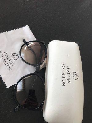 Lunettes Gafas de sol redondas negro
