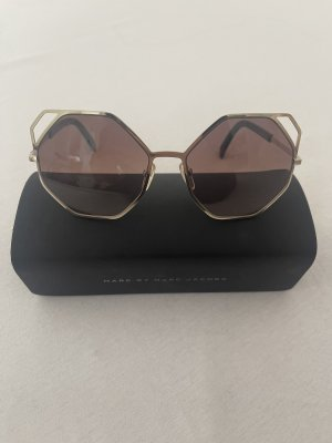Marc by Marc Jacobs Round Sunglasses rose-gold-coloured-cream