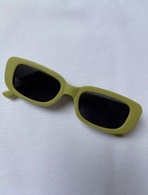Sonnenbrille Matte grün