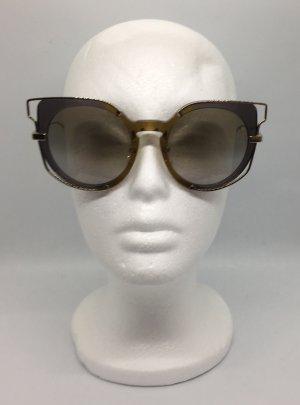 MCM Glasses gold-colored-dark brown
