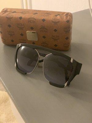 MCM Gafas negro-color plata