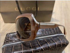 Michael Kors Gafas de sol cuadradas marrón claro