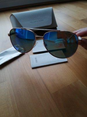 Michael Kors Aviator Glasses white-blue metal