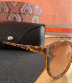 SheIn Round Sunglasses brown-orange