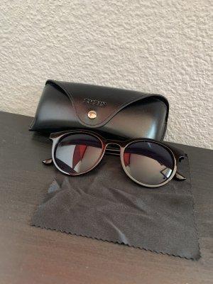 SheIn Round Sunglasses black