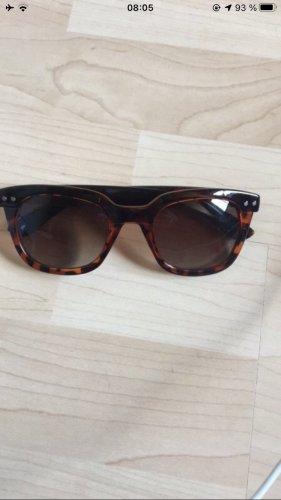 Aldo Angular Shaped Sunglasses brown