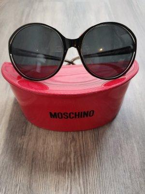 Moschino Oval Sunglasses dark brown