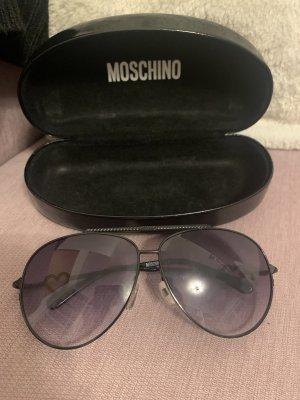 Moschino Pilotenbril zwart