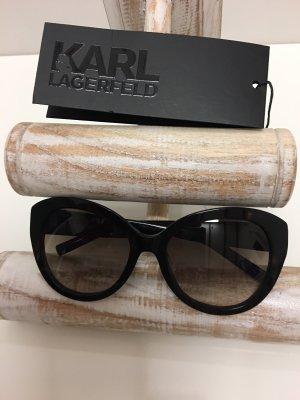 Karl Lagerfeld Gafas negro-marrón-negro