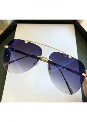 & other stories Glasses blue