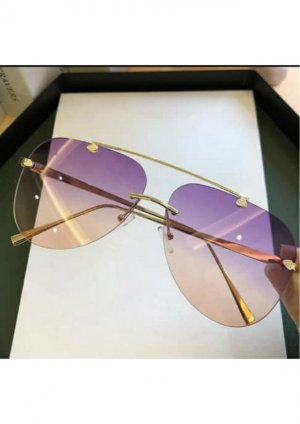 & other stories Glasses purple