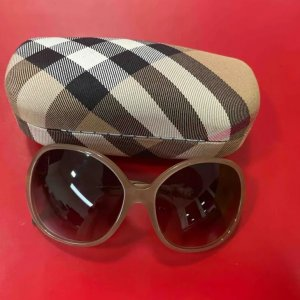 Burberry Glasses beige-grey brown mixture fibre