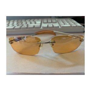 Sonnenbrille orange Retro