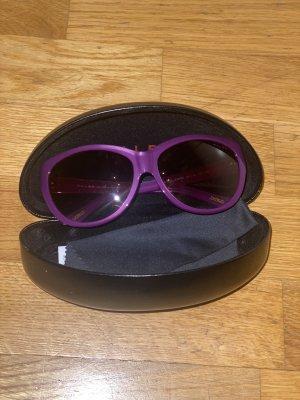 Polo Ralph Lauren Lunettes de soleil rondes violet
