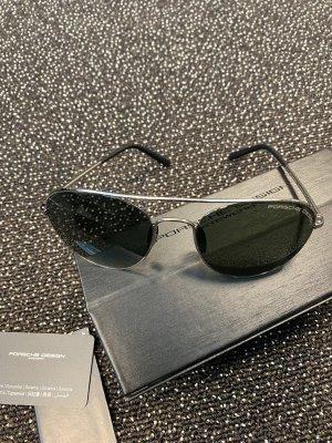 Porsche Design Bril zwart-zilver