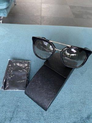Prada Gafas de sol ovaladas negro
