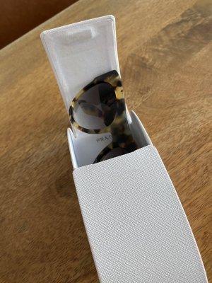 Prada Occhiale stile retro marrone chiaro-nero