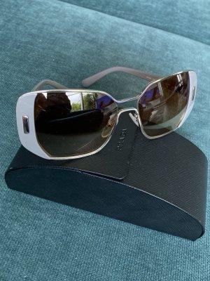 Prada Angular Shaped Sunglasses grey