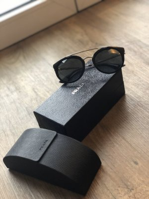 Sonnenbrille Prada schwarz