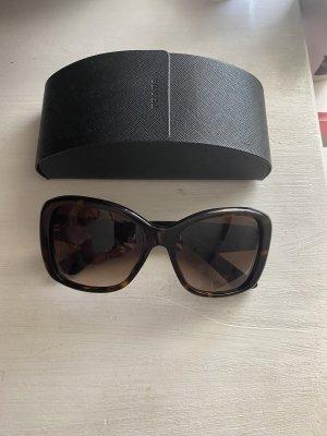 Prada Angular Shaped Sunglasses bronze-colored-brown