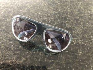 Puma Gafas de sol ovaladas gris acetato