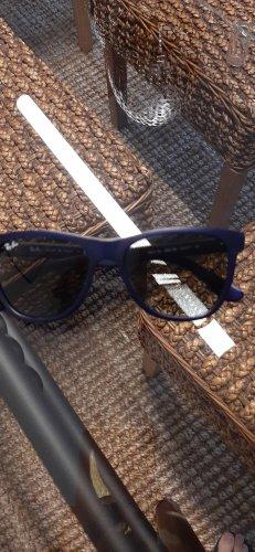 Ray Ban Gafas de sol cuadradas azul oscuro