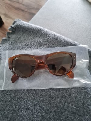 Ray Ban Gafas de sol cuadradas marrón