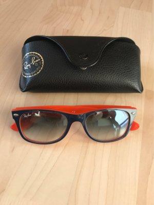 Ray Ban Gafas de sol cuadradas naranja-azul
