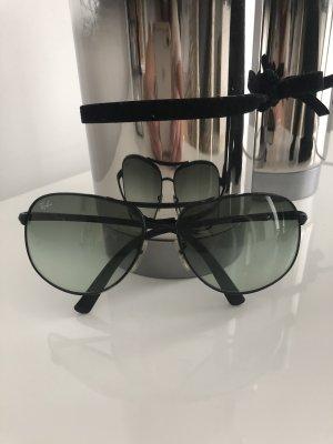 Ray Ban Kwadratowe okulary przeciwsłoneczne czarny