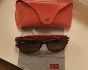 Ray Ban Gafas de sol cuadradas negro-rojo