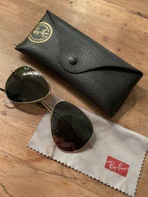 Ray Ban Pilotenbril groen-grijs-goud