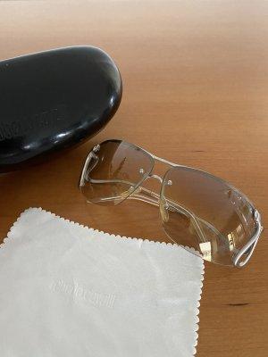 Roberto Cavalli Gafas de sol ovaladas color plata