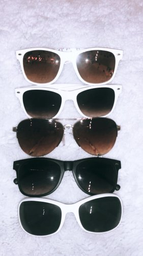 Sonnenbrille  Set Sunglasses sommer sonne schutz blogger influencer boho