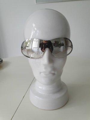 Mango Gafas de sol cuadradas color plata