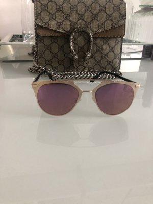 Sonnenbrille So Aviator Real pink gold eckig