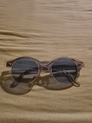Swatch Gafas de sol redondas gris claro