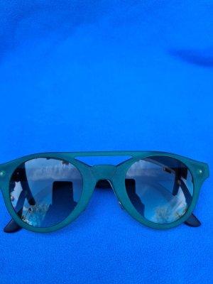 Swatch Gafas de sol redondas azul cadete