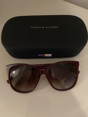 Tommy Hilfiger Round Sunglasses bordeaux