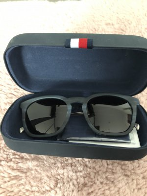 Sonnenbrille Tommy Hilfiger in bluehorn rut