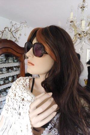 Original Vintage Gafas de sol cuadradas multicolor