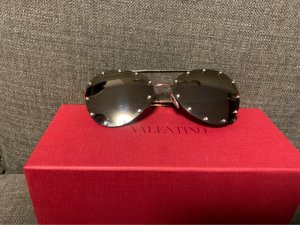 Valentino Gafas de piloto marrón oscuro