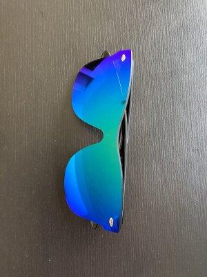 Gafas de sol cuadradas azul cadete-azul
