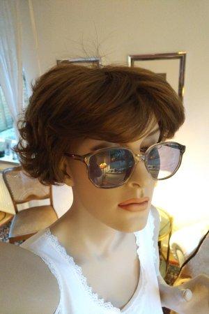 Vintage Gafas de sol cuadradas gris claro